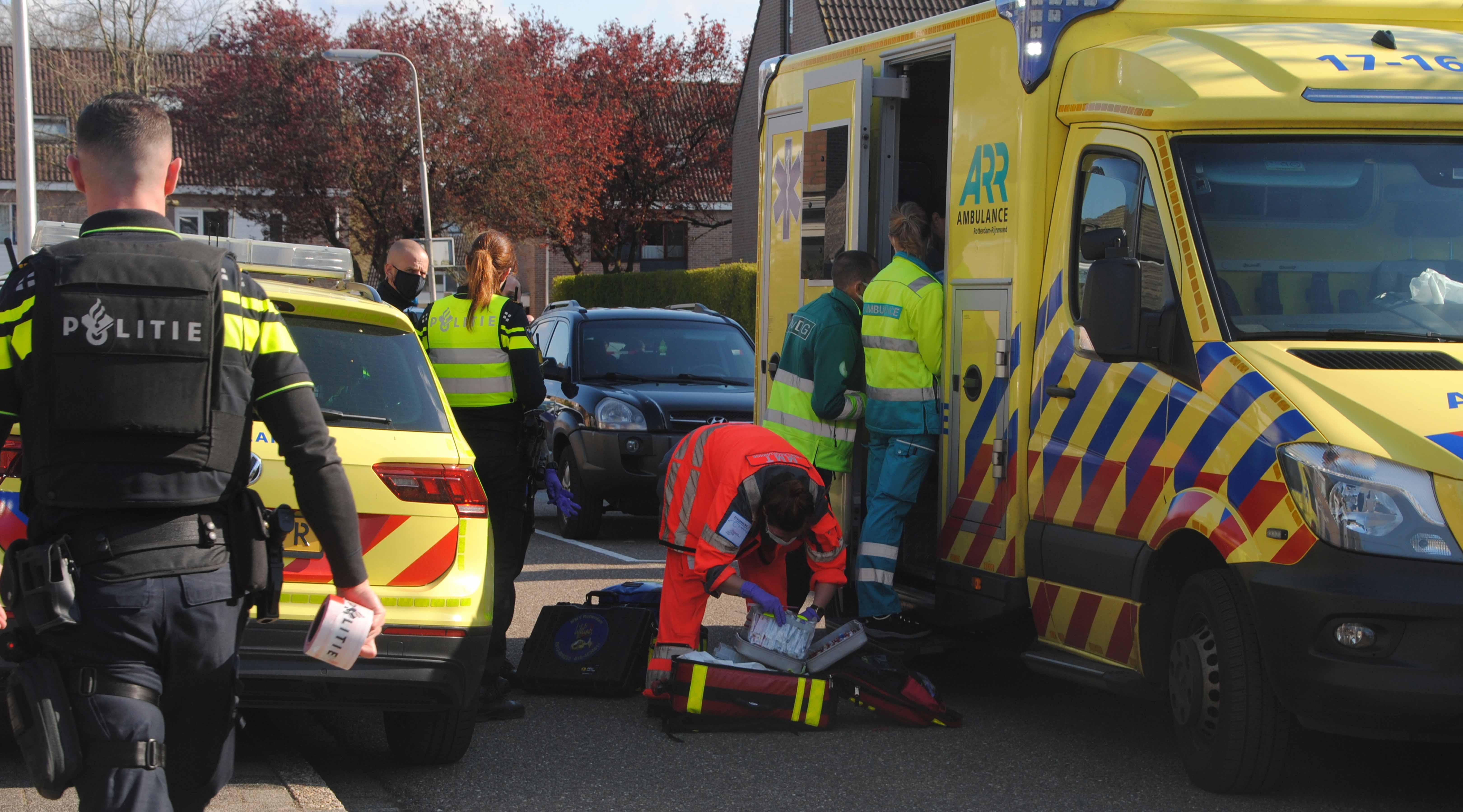 Jongen van 16 jaar zwaargewond na incident in Barendrecht