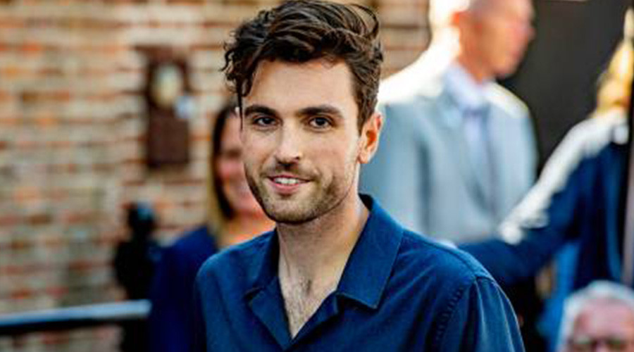 Duncan Laurence treedt op bij Eurovision Village