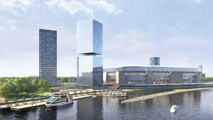 Stadion Feyenoord te laat met info: rapport vertraagd