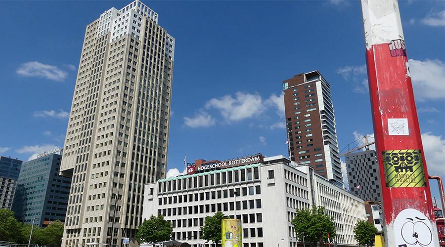 Iets minder aanmeldingen dit jaar bij Hogeschool Rotterdam