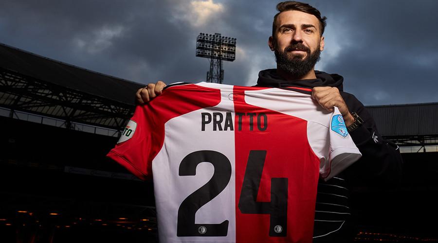Pratto mogelijk niet meer in actie voor Feyenoord