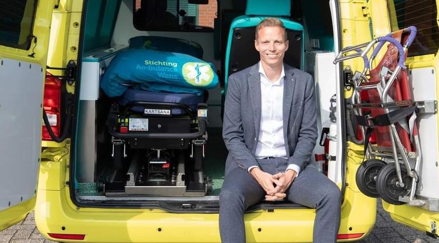Zoon van overleden Ambulancewens-oprichter zet werk door