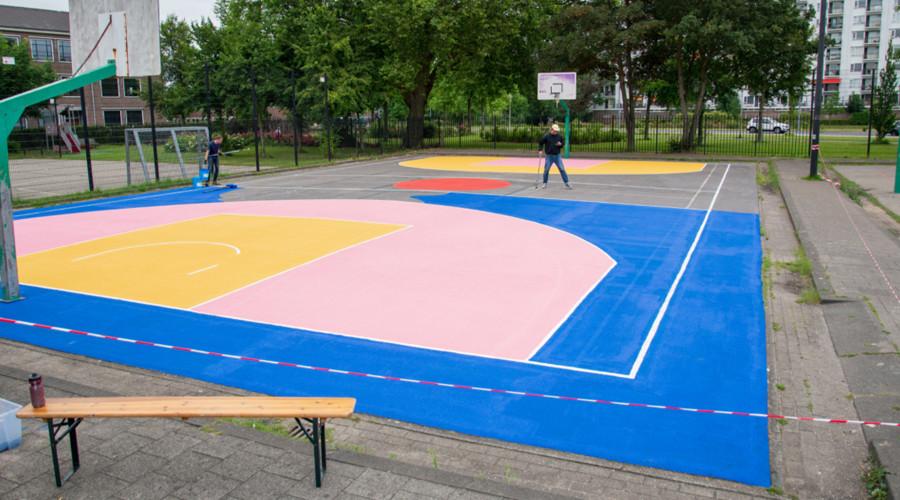 Sportvelden op de Beukelsdijk krijgen kunstzinnige upgrade