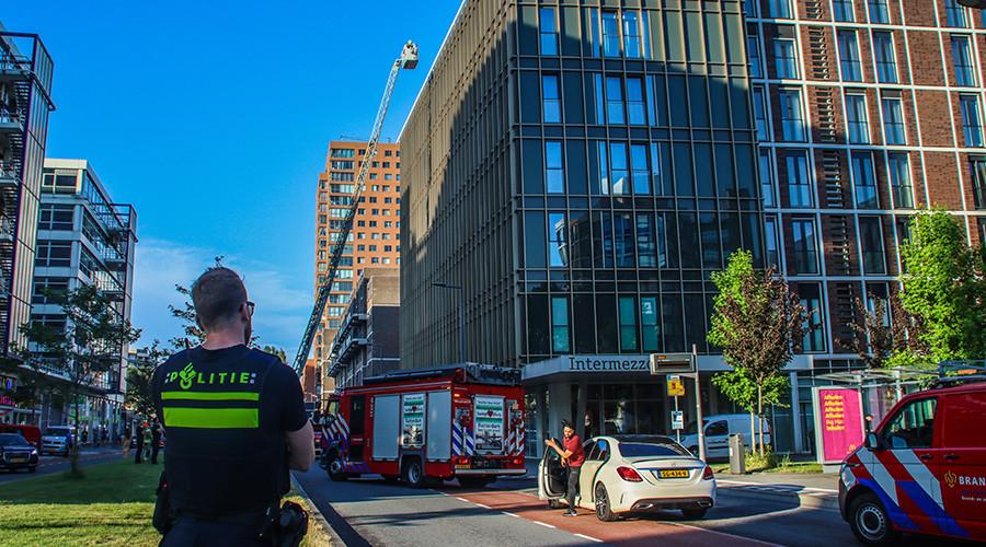 Brand op zevende etage van zorgcomplex op Zuid
