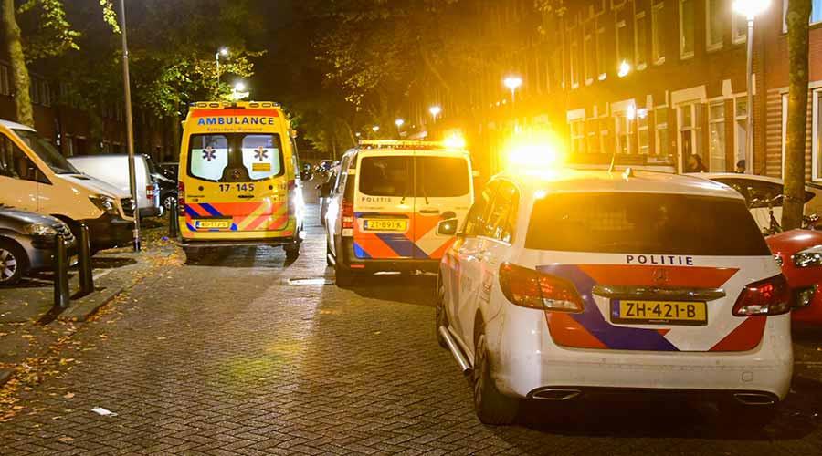 Man gewond bij steekpartij in woning in de Clemensstraat