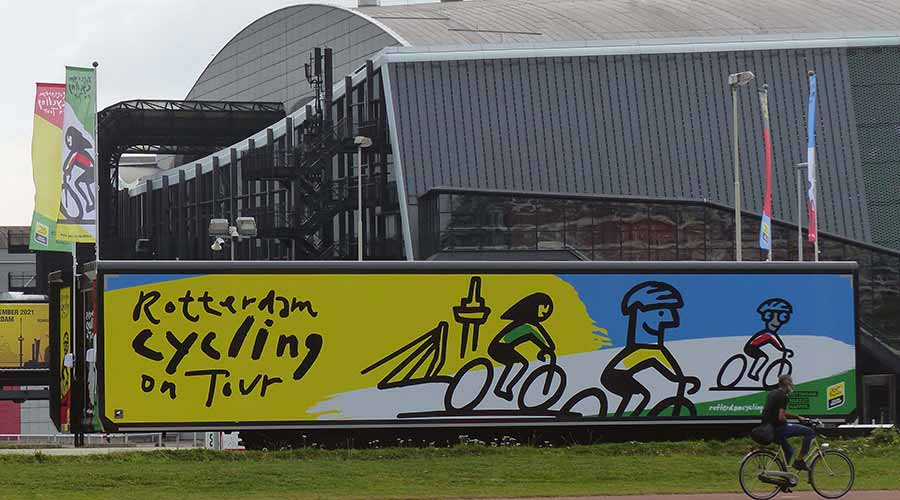 Aandacht voor Rotterdam Cycling on Tour