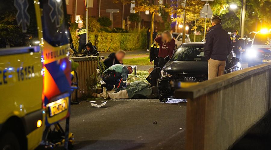 Zwaargewonde bij verkeersongeval in Rotterdam-Nesselande