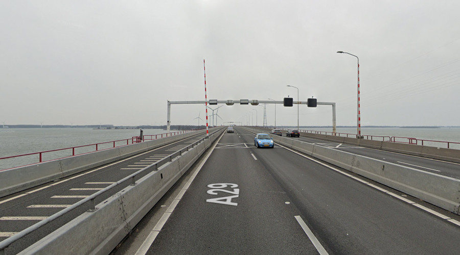 Minister: uur meer reistijd door maatregelen Haringvlietbrug