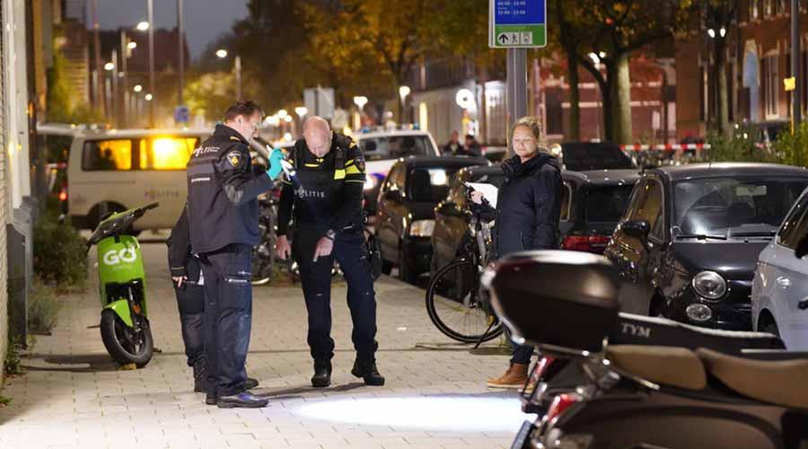 Schietpartij op de Schietbaanlaan in Rotterdam