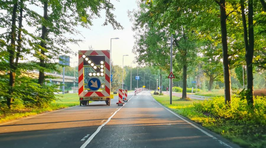 Deze zomer maar één rijbaan beschikbaar op Zuiderparkweg